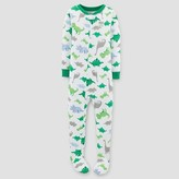 Toddler Boys' One-Piece Snug Fit Cotton Pajama Dino - Just One You Made by Carter's®