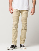 Lrg Airforce Mens Tapered Moto Jeans