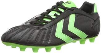 Hummel Unisex - Adult Celestial DK2X FG KANGEROO Football Shoes Black Black/Green Gecko 1015 Size: