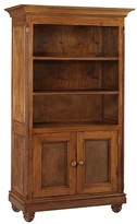 The Well Appointed House Evan Bookcase in Chateau Finish