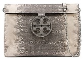 Tory Burch Miller Embossed Convertible Flap Clutch