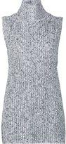 Alexander Wang marled knitted top - women - Cotton/Acrylic/Nylon/Wool - M