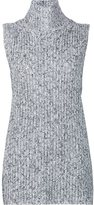 Alexander Wang marled knitted top - women - Cotton/Acrylic/Nylon/Wool - S