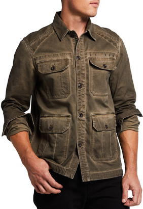 G Star Men's 4-Pocket Utility Overshirt
