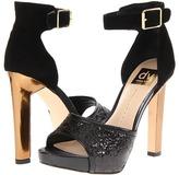 Dolce Vita Pica (Black Glitter Suede) - Footwear