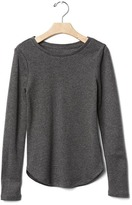Gap Solid ribbed tee