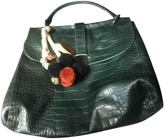 Marni Green Leather Handbags