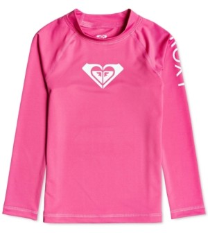 Roxy Toddler & Little Girls Whole Hearted Long Sleeve Rash Guard