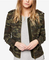 Sanctuary Camo-Print Bomber Jacket