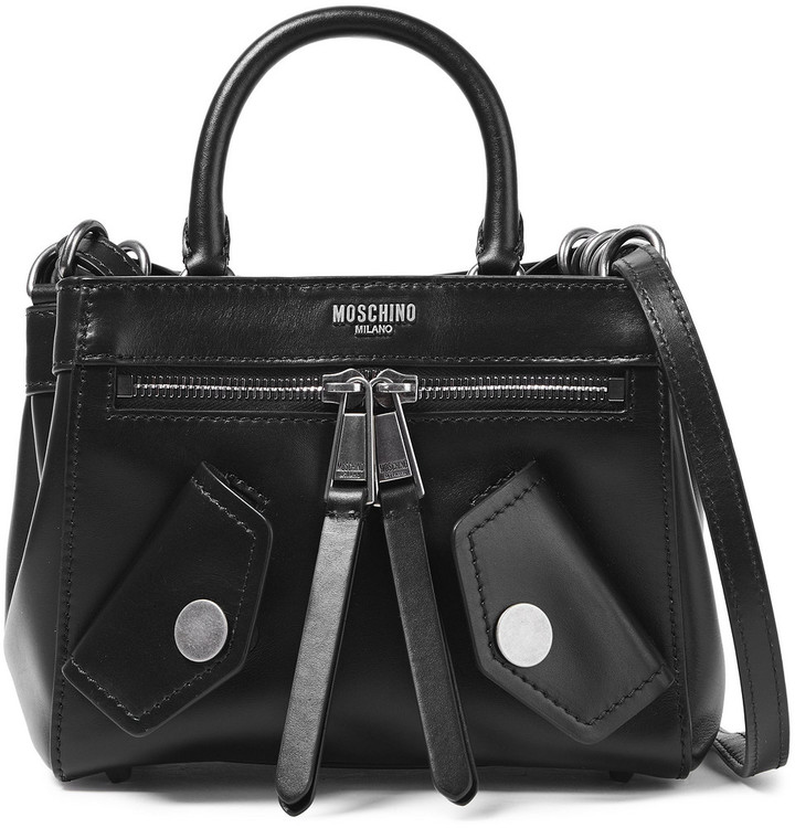 Boutique Moschino Leather Shoulder Bag