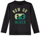 Under Armour Boys' Now or Never Tech Tee - Sizes 4-7