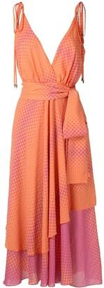 Olympiah Begonia printed dress