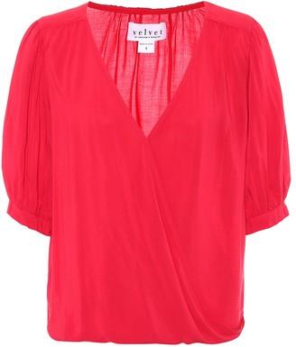 Velvet Willow blouse