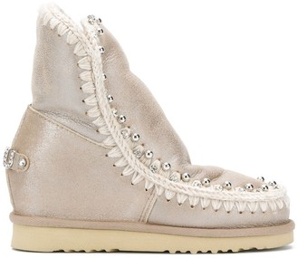 Mou embellished Eskimo mid-calf boots