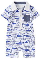 Gymboree Shark Polo 1-Piece