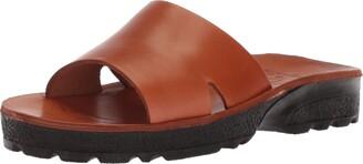 Jerusalem Sandals Women's Bashan Molded Footbed Slide Sandal
