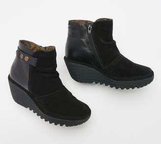 Fly London Suede Ankle Boot - Yuro
