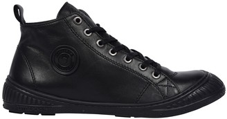 Pataugas Rocker Leather High Top Trainers