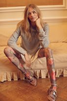 Look From London Peek-A-Boo Printed Fishnet Tight by at Free People