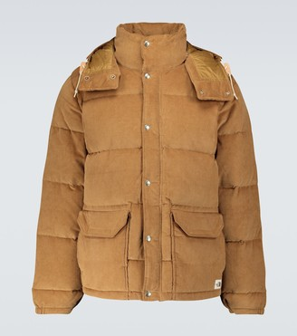 The North Face Sierra down corduroy parka jacket