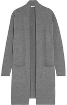 Vince Wool And Cashmere-blend Cardigan - Gray