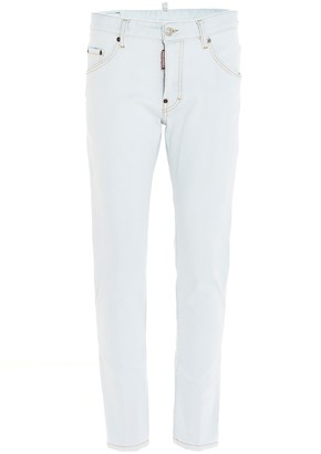 DSQUARED2 Skater Low-Rise Skinny Jeans