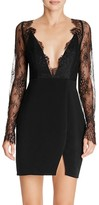 Style Stalker Stylestalker Allende Plunge Neck Mini Dress