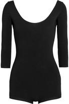 Valentino Stretch-jersey Bodysuit - Black