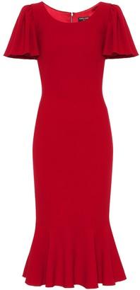 Dolce & Gabbana Exclusive to Mytheresa Crepe midi dress