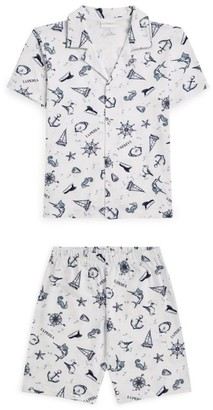 La Perla Kids Nautical Print Pyjama Set (4-14 Years)