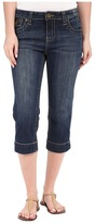 KUT from the Kloth Natalie Crop Jeans in Vagos Wash