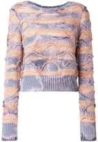 Faith Connexion cropped knit jumper