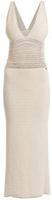 Valentino Knit Midi Dress