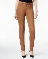 Style&Co. Style & Co Petite Curvy-Fit Skinny Jeans, Colored Wash