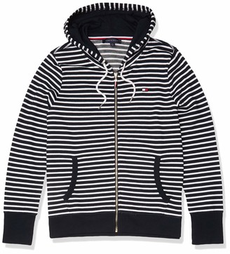 Tommy Hilfiger Women's French Terry Zip Hooded Sweatshirt