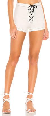 Solid & Striped Denim Sailor Short