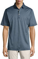 Peter Millar Crown Classic Striped Cotton Polo Shirt
