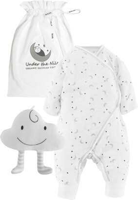 Under the Nile Starry Night 2-Piece Cloud Organic Egyptian Cotton Gift Set