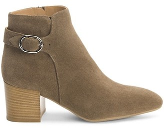 Aquatalia Tacey Suede Ankle Boots