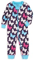 Hatley Infant Girl's Butterflies Fitted One-Piece Pajamas