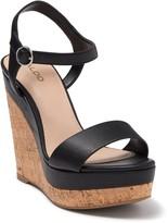 Aldo Crassa Platform Wedge Sandal