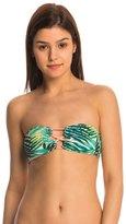 Roxy Swimwear Jungle Fever Strappy Bandeau Bikini Top 8145044