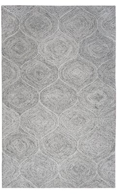 "Pershing Gracie Oaks Hand-Tufted Wool Gray Area Rug Gracie Oaks Rug Size: Runner 2'6"" x 8'"