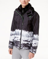 Superdry Men's Printed Three Zipper Windbreaker
