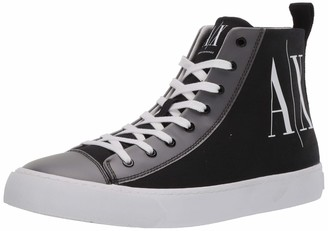 Armani Exchange A|X Men's Project Logo High Top Lace Up Sneaker