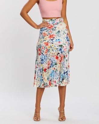 Atmos & Here Aurora Pleated Skirt