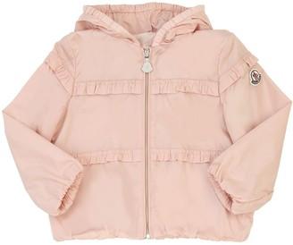 Moncler Hiti Ruched Nylon Jacket