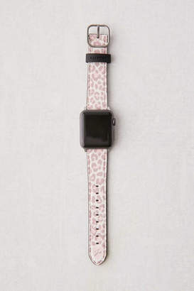 Casetify Dusty Pink Leopard Apple Watch Strap
