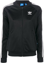 adidas branded zipped sweater