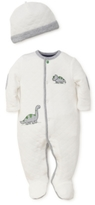 Little Me 2-Pc. Dino Fun Cotton Hat & Footed Coverall Set, Baby Boys (0-24 months)